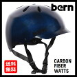 送料無料 Bern バーン WATTS CARBON FIBER NAVY [JAPAN FIT][ワッツ][ヘルメット][自転車][0707bonus_coupon]