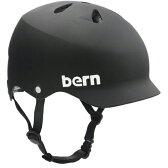 送料無料 Bern バーン WATTS Matte Black [JAPAN FIT][ヘルメット][自転車]