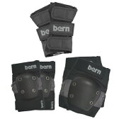 Bern バーン JUNIOR SKATE PAD SET Grey FREE[0702bonus_coupon]