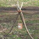 ブラウンブラウン BrownBrown ウッドスタンド キャンドルスタンド ライトスタンド woodstand アウトドア