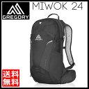 Gregory グレゴリー Miwok 24 StormBlack [ミウォック][バックパック]