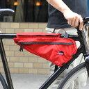 送料無料 JANDD ジャンド Frame pack RED [フレームパック][レッド][フレームバッグ][バイクバッグ][自転車用バッグ][収納バッグ][3L]