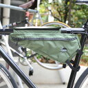 ポイント10倍 1/24 8:59まで 送料無料 JANDD ジャンド Frame pack GREEN [フレームパック][グリーン][フレームバッグ][バイクバッグ][自転車用バッグ][収納バッグ][3L]