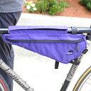 ポイント10倍 1/24 8:59まで 送料無料 JANDD ジャンド Frame pack PURPLE [フレームパック][バイクバッグ][自転車用バッグ][3L]