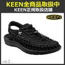 キーン KEEN Mens UNEEK 3c Black/B...
