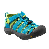 KEEN ������ Youth Newport H2 HawaiianBlue��GreenGlow [�˥塼�ݡ���H2][���å��������][�Ҷ���]��0722retail_coupon��
