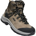 キーン KEEN Womens Wild Sky Mid WP Brindle/Black