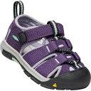 キーン KEEN Tots Newport H2 Purple Pennant/Lavender Gray