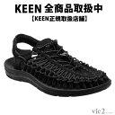 キーン KEEN Mens UNEEK 3c Black/Black [ユニーク][サンダル][スニ...