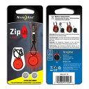 楽天vic2(ビックツー)ナイトアイズ NITEIZE ZipLit LED レッド [ジップリット][LEDライト][8/23 13:59まで ポイント3倍]