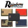 Rainbow of California レインボーオブカリフォルニア トリフォールドウォレット [財布][ウォレット][収納性抜群][5カラー]