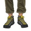 耐久性優れ岩場でも安定した足運びを実現したミッドカットモデル