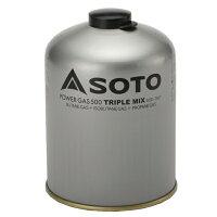 SOTO ソト 新富士バーナー SOTO パワーガス500トリプルミックス [ソト][ガス缶][OD缶][カートリッジ][燃料][250]の画像