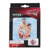 インテックス(INTEX) Cars ビーチボール 61cm 58053NP (Mens、Ladys、Jr)の画像