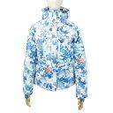 ゴールドウィン(GOLDWIN) WS PALE FLOWER JACKET レディース スキーウエア ジャケット GL11604P VB ホワイト×ブルー (Lady's)
