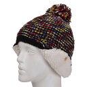 スイベル(Swivel) EAR BORE PON スノーボード ニット帽 ビーニー 331SW6DW0070 BLK (Lady's)