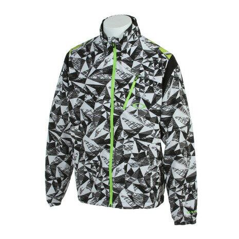 オークリー(OAKLEY) Bark Shard Wind JKT (メンズアウター) 412241JP 022 Black/White 【16秋冬】 【売切ご容赦】 (Men's)
