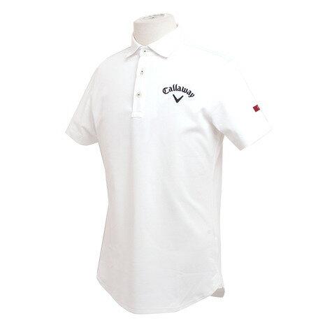 キャロウェイ(CALLAWAY) RED アイスコットンコードレーンシャツ 241-7157016-030 【17春夏】 (Men's) 【☆ポイント10倍☆最大15%offクーポン☆1,980円以上送料無料】ヴィクトリアゴルフ