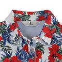 マンシングウエア(MUNSING WEAR) デュアルコンフォートフラワープリント半袖ポロシャツ MGWLJA20-WHRD (Lady's)