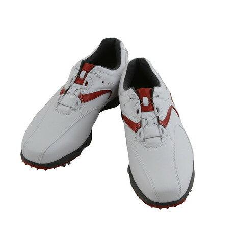 フットジョイ(FootJoy) 16 EXL スパイクボア WT/RD (メンズゴルフシューズ) 45140J (Men's) 【☆ポイント10倍☆最大15%offクーポン☆1,980円以上送料無料】ヴィクトリアゴルフ