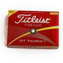 タイトリスト(TITLEIST) DT TRUSOFT イエロー (メンズゴルフボール) 【2016年モデル】 (Men's)