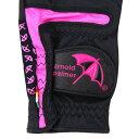 アーノルドパーマー(Arnold Palmer) ネイル (レディースゴルフグローブ) APGV-002L 両手用 【2015年モデル】 (Lady's)