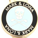 マーク&ロナ(MARK&LONA) 16FW ロゴ入りマーカー (ボールマーカー) ML-ZM02-BLACK/WHITE