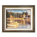 (額装品)世界の名画9573 F6 モネ「アルジャントーユの橋」 117188