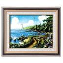 アラン・ギアナ絵画額9573 F6 運命の岬 117249