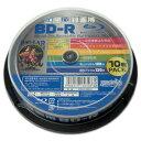 磁気研究所 HIDISC 録画用BD-R ホワイトプリンタブル 1〜6倍速 25GB 10枚 HDBDR130RP10