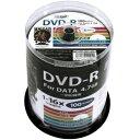 HI DISC DVD-R 4.7GB 100枚スピンドル 1〜16倍速対応 ワイドプリンタブル HDDR47JNP100