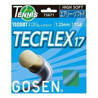 GOSEN(ゴーセン) テックガット テックフレックス17 アクア TS671AQ 送料込!の画像
