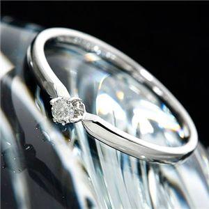 K18ダイヤリング 指輪 15号 送料無料! シンプルで美しい!K18ダイヤモンドリング