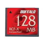 バッファロー コンパクトフラッシュ ハイコストパフォーマンスモデル 128MB RCF-X128MY 送料込!
