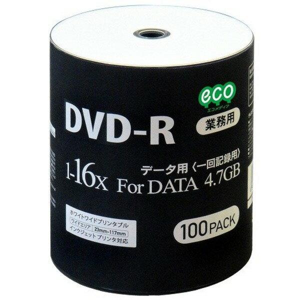 磁気研究所 データ用DVD-R 4.7GB 16倍速 ワイドプリンタブル対応 100枚バルクパッケージ DR47JNP100_BULK-6P 【6個セット】 送料無料!