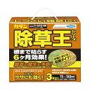 (まとめ) フマキラー カダン除草王 オールキラー粒剤 3kg 1本 【×2セット】 送料無料!
