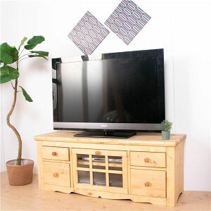 TVボード 120cm幅 ナチュラルブラウン テレビ台 テレ