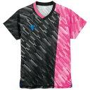 TSP(ティーエスピー) 卓球ウェア ゲームシャツ V-GS920 ピンク 2XS 送料無料!