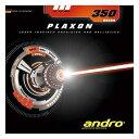 andro(アンドロ) 裏ソフトラバー PLAXON 350(プラクソン350) アカ 1.8 112250