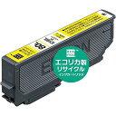 リサイクルインクカートリッジ EPSON ICM80L イエロー(染料) ECI-E80L-Y