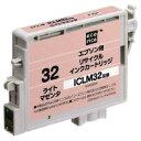 リサイクルインクカートリッジ EPSON ライトマゼンタ ICLM32 ECI-E32LM