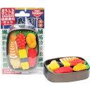 ブリスターパック おもしろ消しゴム 出前寿司セット 1セット