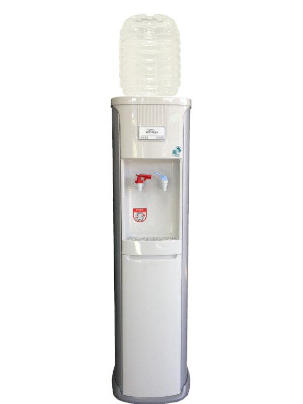 ガロンボトル用据置型ウォーターサーバー JCH-7020  専用8リットルボトル2本つき