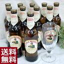【送料無料】オリジナルグラス1コ付♪ビッラ・モレッティ330ml瓶×11本セット
