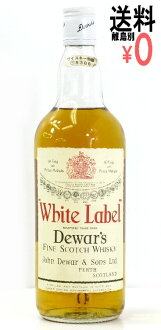 Dewar's white label premium valuation Dewar's Scotch whisky