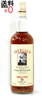 ABERLOUR GLENLIVET 750ml/43 degree of アベラワー Glenlivet 10 years