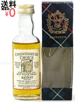 Gordon & MacPhail コニッサーズ-choice GMCC MACDUFF and Macduff 1975 mini bottle 50 ml box bonus miniature bottle コニサーズチョイス