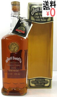 Jack Daniels gold medal 1905 1,000 ml 43 degrees JACK DANIEL's