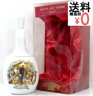 McKinley 1815 decades ceramic bottle Mackinlay's LEGACY 750ml/43度