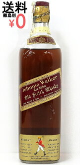 Special grade ジョニーウォーカーレッド red Cork stopper Johnnie Walker Red whiskey 760ml/43度